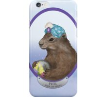Psychic Groundhog Predicts the Future iPhone Case/Skin