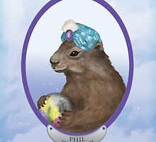 Psychic Groundhog Predicts the Future by Kim  Harris