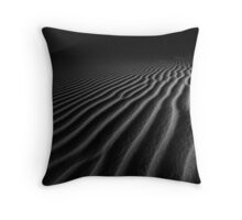 Desert Ripples Throw Pillow