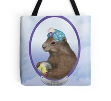Psychic Groundhog Predicts the Future Tote Bag