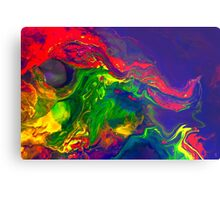 Cool Colorful Dragon Face Abstract Gifts Design From Paintings Metal Print