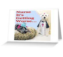 Nurse... Greeting Card