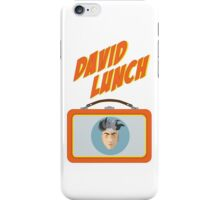 DAVID LUNCH by burro iPhone Case/Skin