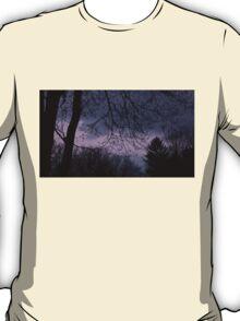 Mysterious Night Sky. T-Shirt