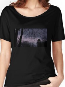 Mysterious Night Sky. Women's Relaxed Fit T-Shirt