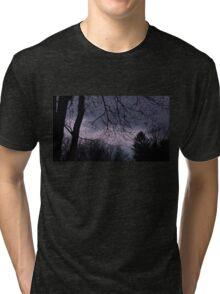 Mysterious Night Sky. Tri-blend T-Shirt