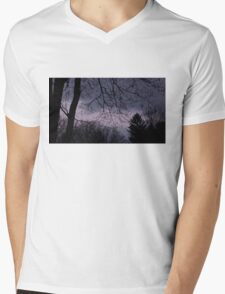 Mysterious Night Sky. Mens V-Neck T-Shirt