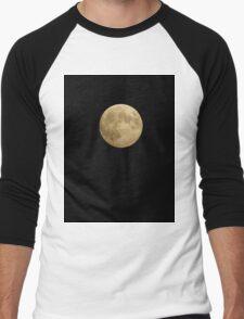Full Blood Moon 10-2014 Men's Baseball ¾ T-Shirt