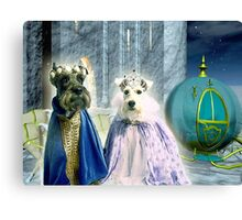Cinderella pups Canvas Print