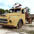 Old opal mining truck - Jack Murray Corner (Lightning Ridge NSW) by DashTravels