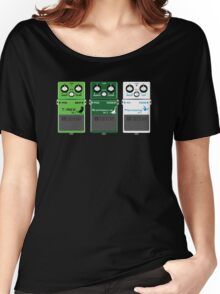 Dinosaur Effects Pedals Women's Relaxed Fit T-Shirt