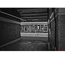 Train Station in Goulburn/NSW/Australia (10) Photographic Print