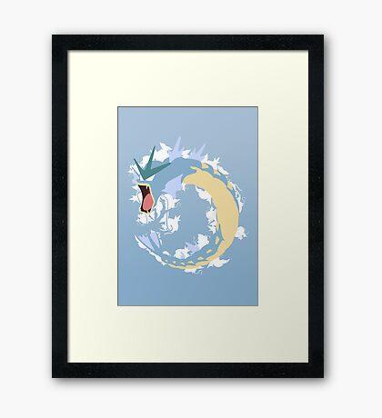 Gyarados Framed Print