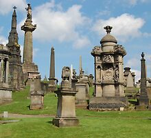 The Necropolis, Glasgow, Scotland by Pat Herlihy