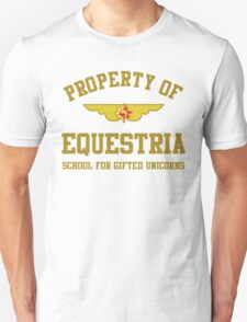 Property of Equestria: Sunset Shimmer T-Shirt