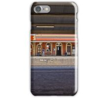 Train Station in Goulburn/NSW/Australia (11) iPhone Case/Skin