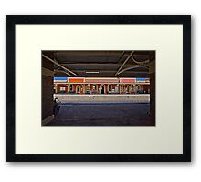 Train Station in Goulburn/NSW/Australia (11) Framed Print