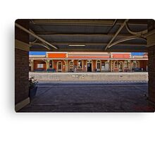 Train Station in Goulburn/NSW/Australia (11) Canvas Print