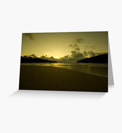 Cornish Gold Greeting Card