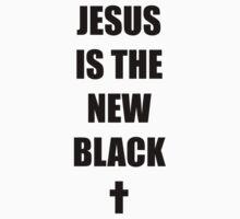 Black Jesus One Piece - Short Sleeve