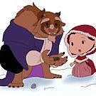 Beast Christmas by pokegirl93