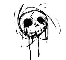Skull by CrazyTigerLady