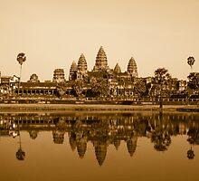 Angkor Wat - Cambodia by Stephen Permezel