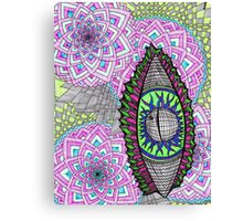 Eye Liner Canvas Print
