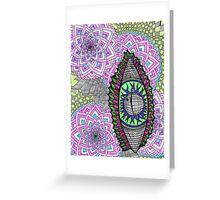 Eye Liner Greeting Card