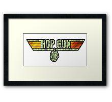 HOP GUN Framed Print