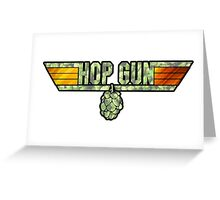 HOP GUN Greeting Card
