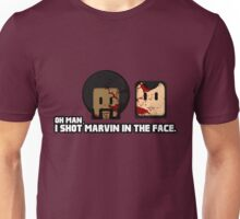 Toon Quote : Pulp Fiction - I Shot Marvin in the Face Unisex T-Shirt