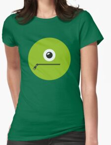 GREEN MONSTER Womens Fitted T-Shirt