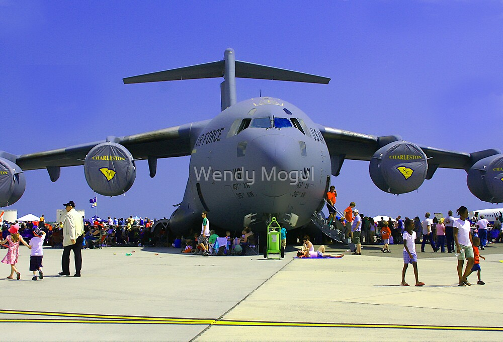 US Air Force C17  by Wendy Mogul
