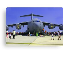 US Air Force C17  Canvas Print