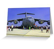 US Air Force C17  Greeting Card
