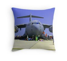 US Air Force C17  Throw Pillow