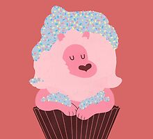 Cupcake Lion by Jordan Bender