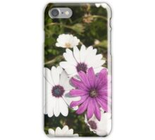 Shades of purple flower photography iPhone Case/Skin