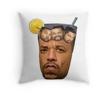 Just some Ice Tea with Ice Cubes Throw Pillow