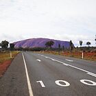Road to the rock - Uluru, Northern Territory by DashTravels