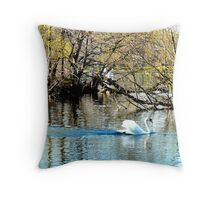 JET PROPELLED Throw Pillow