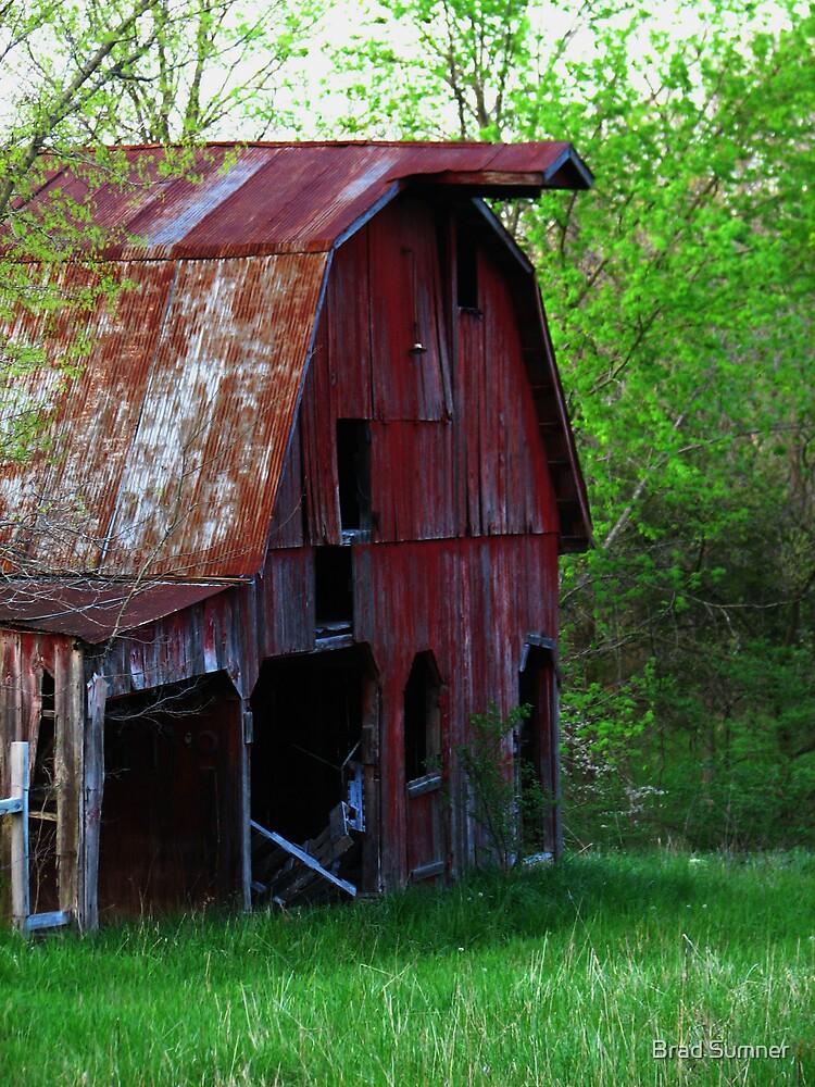 Big Red Barn by Brad Sumner