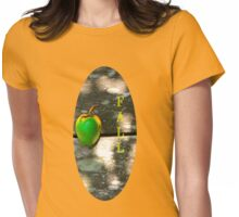 Fall T  Wild Apple Womens Fitted T-Shirt