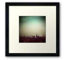 Escaping the City Framed Print