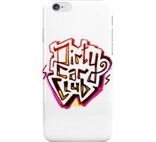 Dirty Car Club, 90s style lettering iPhone Case/Skin