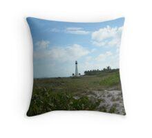Miami Lighthouse 1 Throw Pillow