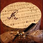 Jealous Is The Birdling - Band/Hat Box by Sandra Foster