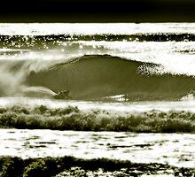 kneeboard surfing.simon farrer by steen