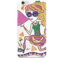 Blowing bubbles….. iPhone Case/Skin